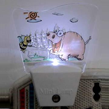 迷你小夜灯|自动彩灯|光控灯