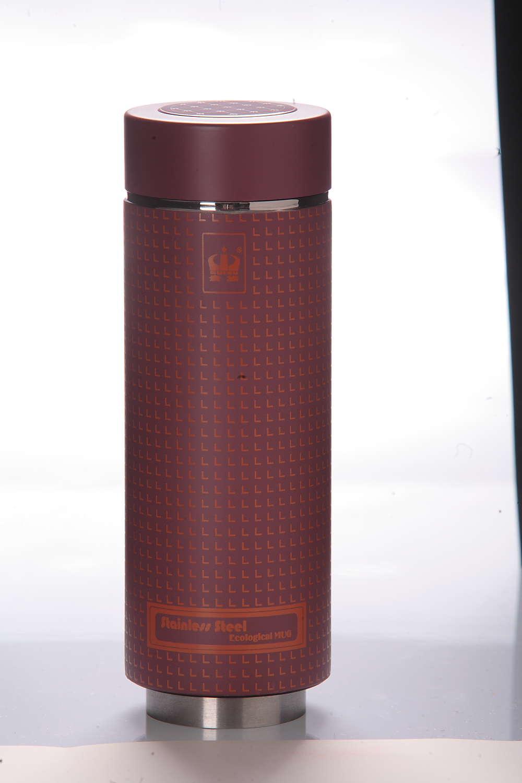 不锈钢真空生态紫砂杯,贵族杯