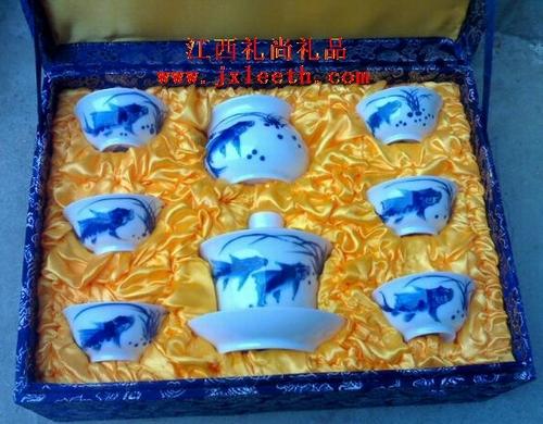 景德镇陶瓷茶具 手绘陶瓷茶具