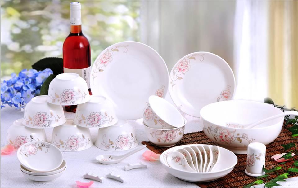 39头陶瓷餐具,厨房餐具,雍容华贵