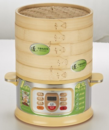 竹香电蒸笼,多功能电蒸锅,蒸菜馒头包子超大容量,多功能家用电蒸笼